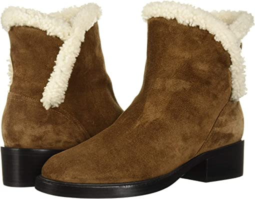 Brown Suede/Shearling