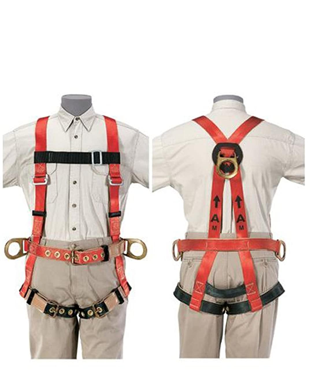 例廃棄するトーストKlein Tools 87092 Premium Fall-Arrest/Retrieval Harness for Tower Work, X-Large by Klein [並行輸入品]