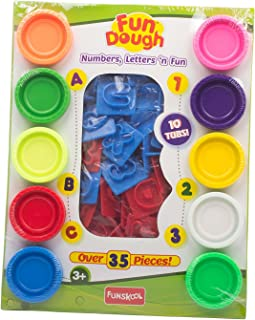 Funskool-Fundough Numbers Letters N Fun, Multi Colour