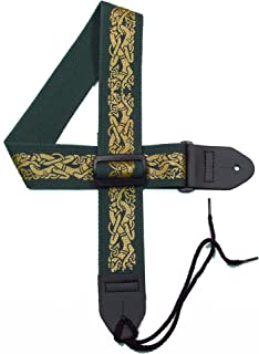 Legacystraps Celtic Knot Guitar Strap with Celtic Dogs #1 - 2