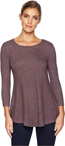 Brushed Babydoll Hemline Knit