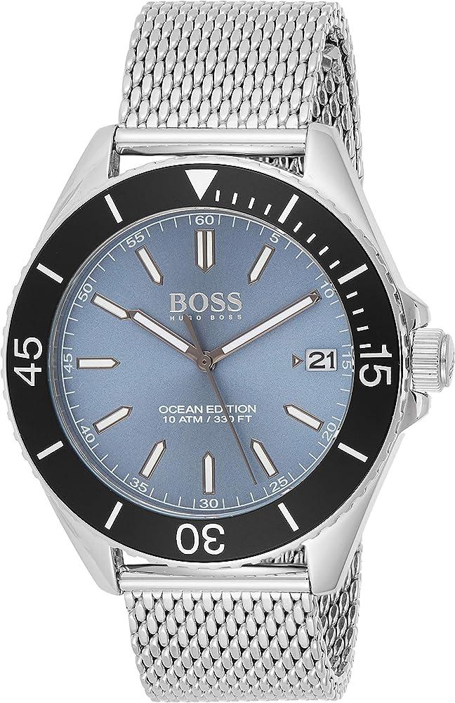 Hugo boss orologio da polso uomo analogico quarzo 1513561