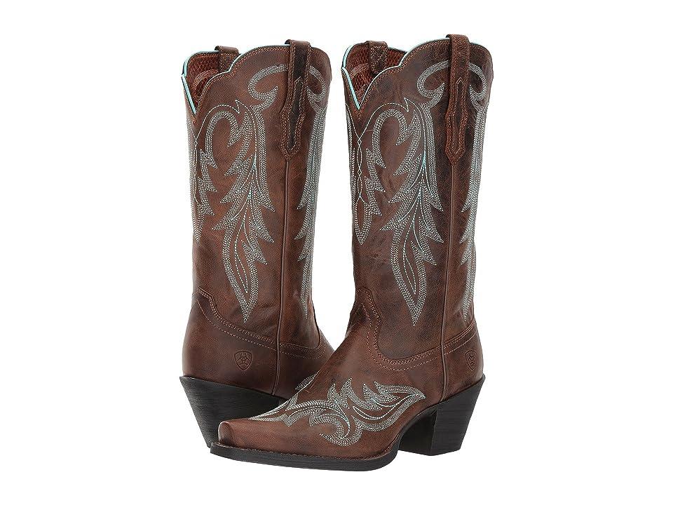 Ariat Round Up Renegade (Barnwood) Cowboy Boots