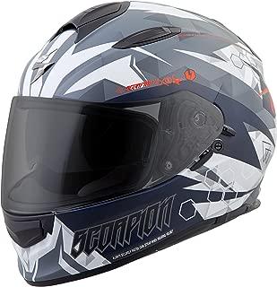 ScorpionExo Unisex-Adult full-face-helmet-style EXO-T510 Helmet (White,Large), 1 Pack