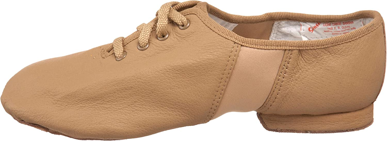 Sansha Tivoli Lace-Up Leather Jazz Shoe