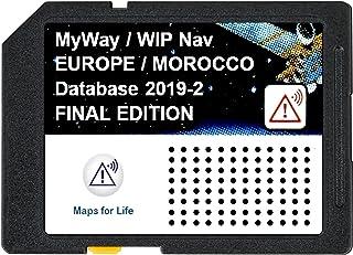 Laatste Navigatie update SD kaart GPS Europa + Marokko RNEG 2019-2 Peugeot Citroen SD Card - FINAL EDITION - DEFINITIEVE U...