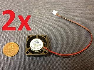 3F 2X GDT Mini Cooler 12v 2pin 2510 25x25x10mm Dc Cooling Fan Micro Brushless C7