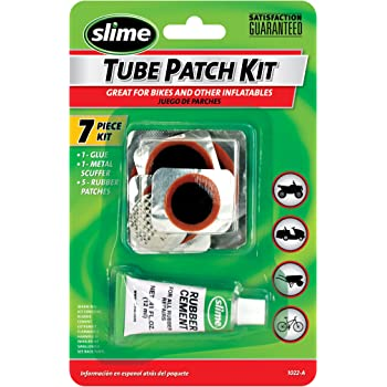 Slime 1022-A Rubber Tube Patch Kit with Glue 8Oz