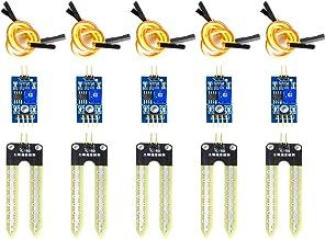 Higr/ómetro Medidor de Detecci/ón De Humedad para Arduino KESOTO ESP32 WiFi Bluetooth Bater/ía DHT11 Sensor de Humedad de Temperatura de Suelo