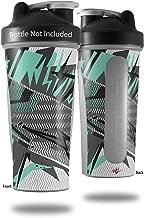 Decal Style Skin Wrap works with Blender Bottle 28oz Baja 0032 Seafoam Green (BOTTLE NOT INCLUDED)