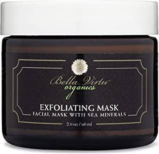 Exfoliating Face Mask Moisturizes and Nourishes Skin, Blackhead Remover, Sea Minerals, Deep Cleansing, Anti-Aging Skin Car...