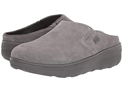 FitFlop Loaff Suede Clogs (Grey) Women
