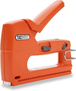 Tacwise Z3-140L Heavy Duty Hand Tacker/Staple Gun for 1/4, 5/16, 3/8, 1/2 and 9/16 Inches Long Staples, Orange (0807)