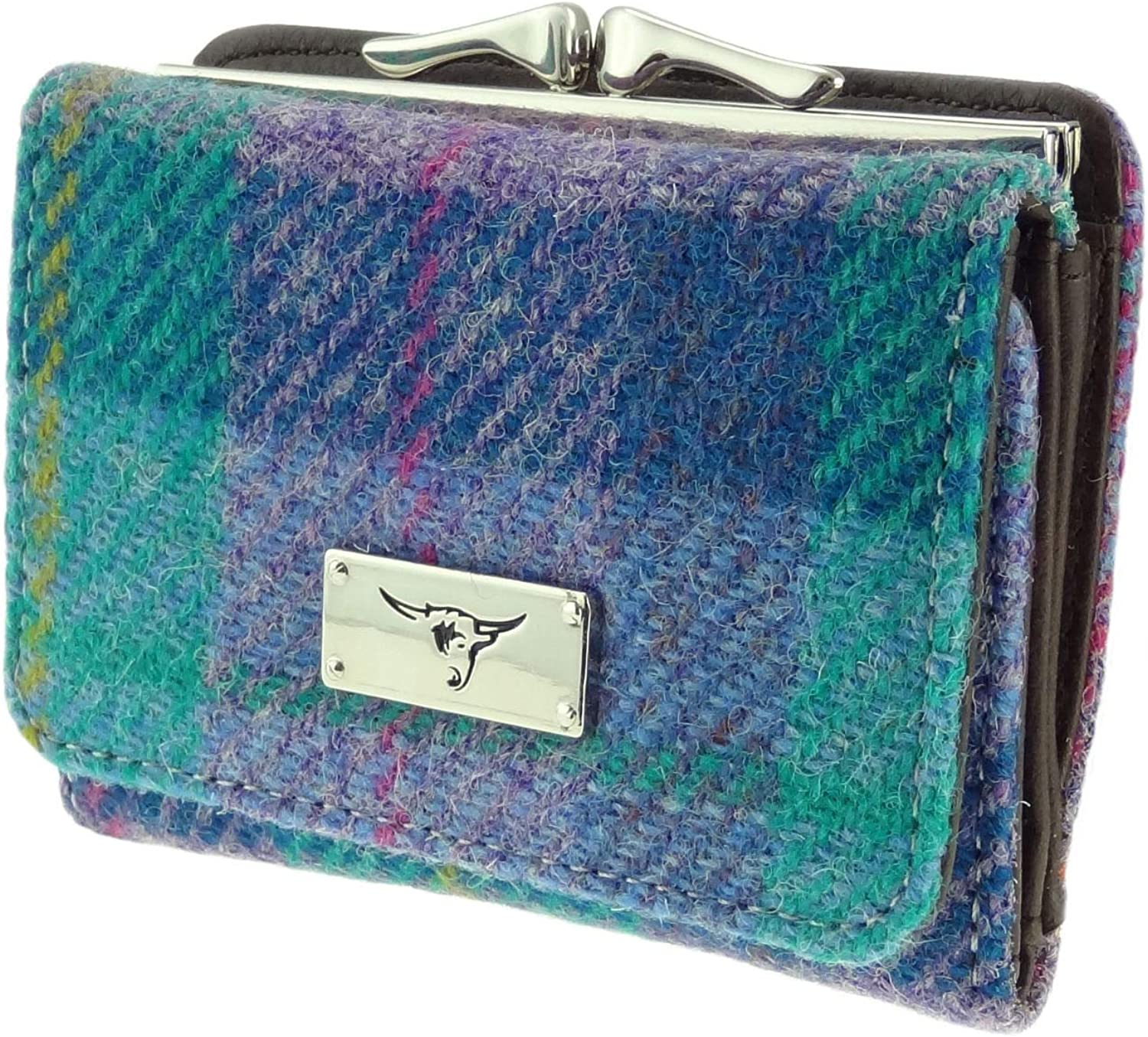 Womens Harris Tweed Small Clasp Purse Unst LB2113