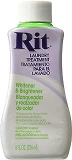 Rit Dye Liquid Fabric Dye, 8-Ounce, Whitener and Brightener