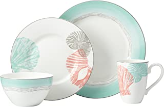 Lenox 4 Piece Sandy Point Place Setting Dinnerware Set, Multicolor