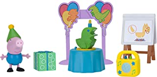 Peppa Pig Little Rooms George's Birthday Playset