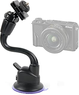 Canon PowerShot ELPH 170 is DURAGADGET Shake-Proof Travel in-Car Windscreen Mount Compatible with The New Canon PowerShot ELPH 160