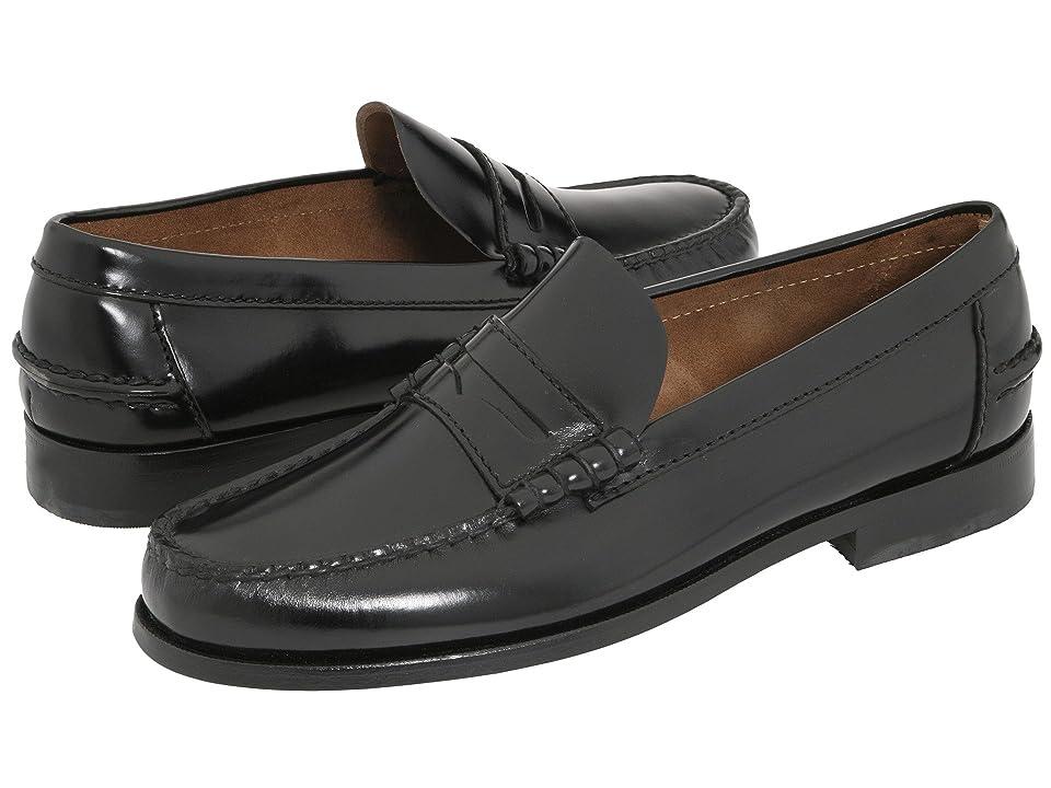 60s Mens Shoes | 70s Mens shoes – Platforms, Boots Florsheim Berkley Penny Loafer Black Mens Slip on  Shoes $109.95 AT vintagedancer.com