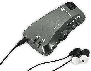 Geemarc Telecom S.A LH10_ANT_I Wzmacniacz Słuchu z Mikrofonem Kierunkowym, Antracytowy, 1 Sztuka