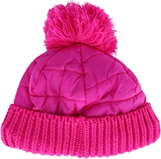 Densley & Co Kids' 4-6 Puffer Beanie Cap