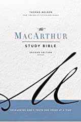 NASB, MacArthur Study Bible, 2nd Edition: Unleashing God's Truth One Verse at a Time Kindle Edition