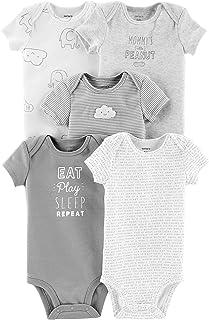 Carter's Baby Girls' 5 Pack Tank Bodysuits