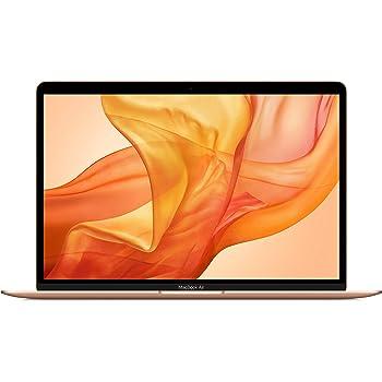 最新 Apple MacBook Air (13インチPro, 1.1GHzデュアルコア第10世代IntelCorei3プロセッサ, 8GB RAM, 256GB) - ゴールド