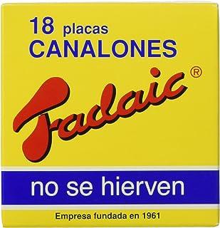 comprar comparacion Fadaic - Pasta Canelones Laminada Carton - 18 Canelones - 80 g