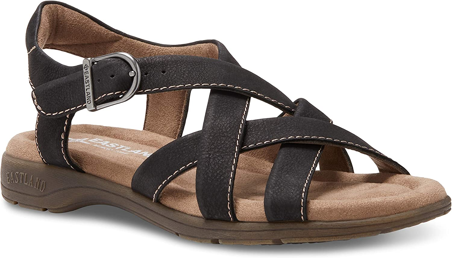Eastland Women's Don't miss the campaign Back Sandal Strap Low price