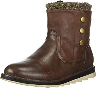 MUK LUKS Women's Hope Boots Wheeled Heel Shoe