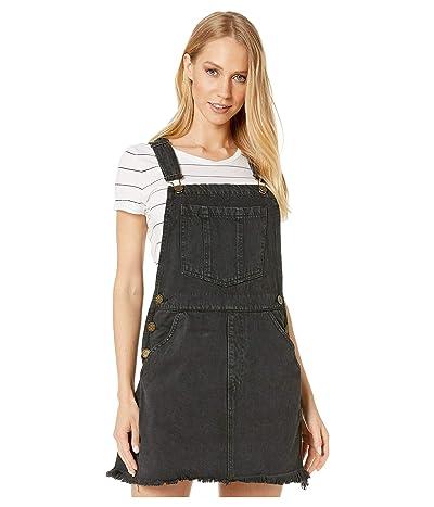 Show Me Your Mumu Georgia Overalls Dress (Washed Black) Women