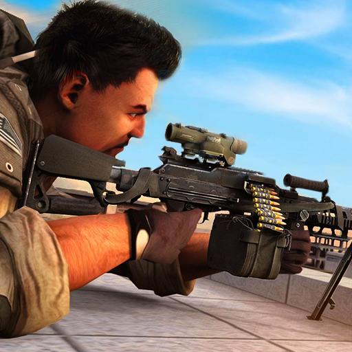 Border Police Sniper Battle Reglas de supervivencia en Shooter Arena Juego 3D: Disparar y matar Terrorista Gangster Criminals Attack In Battle Action Simulator Juego de Aventuras