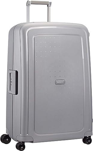Samsonite S'Cure Spinner - Maleta de equipaje, L (75 cm - 102 L), Plata (Silver)