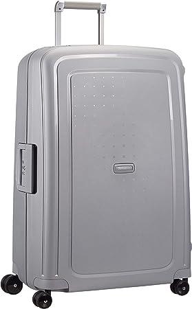 Imagen deSamsonite S'Cure Spinner - Maleta de equipaje, L (75 cm - 102 L), Plata (Silver)