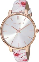Ted Baker Women's 'Kate' Quartz Stainless Steel and Leather Casual watchMulti Color