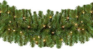 thick full christmas garland