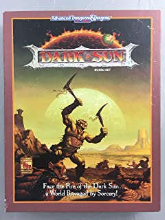 Dark Sun: Campaign Setting (Advanced Dungeons & Dragons, 2nd Edition)