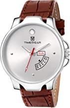 TIMEWEAR Day Date Functioning Strap Watch for Men