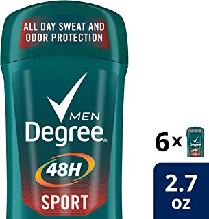 Degree Men Dry Protection Antitranspirante, Sport, 2.7 Ounce (Pack of 6)