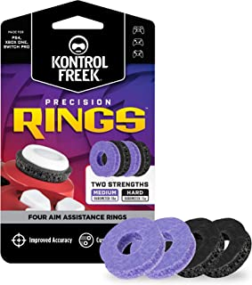 KontrolFreek Precision Rings | Aim Assist Motion Control for PlayStation 4 (PS4), PlayStation 5 (PS5), Xbox One, Xbox Seri...