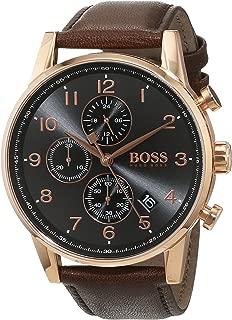 Hugo Boss Men 1513496 Year-Round Chronograph Quartz Brown Watch