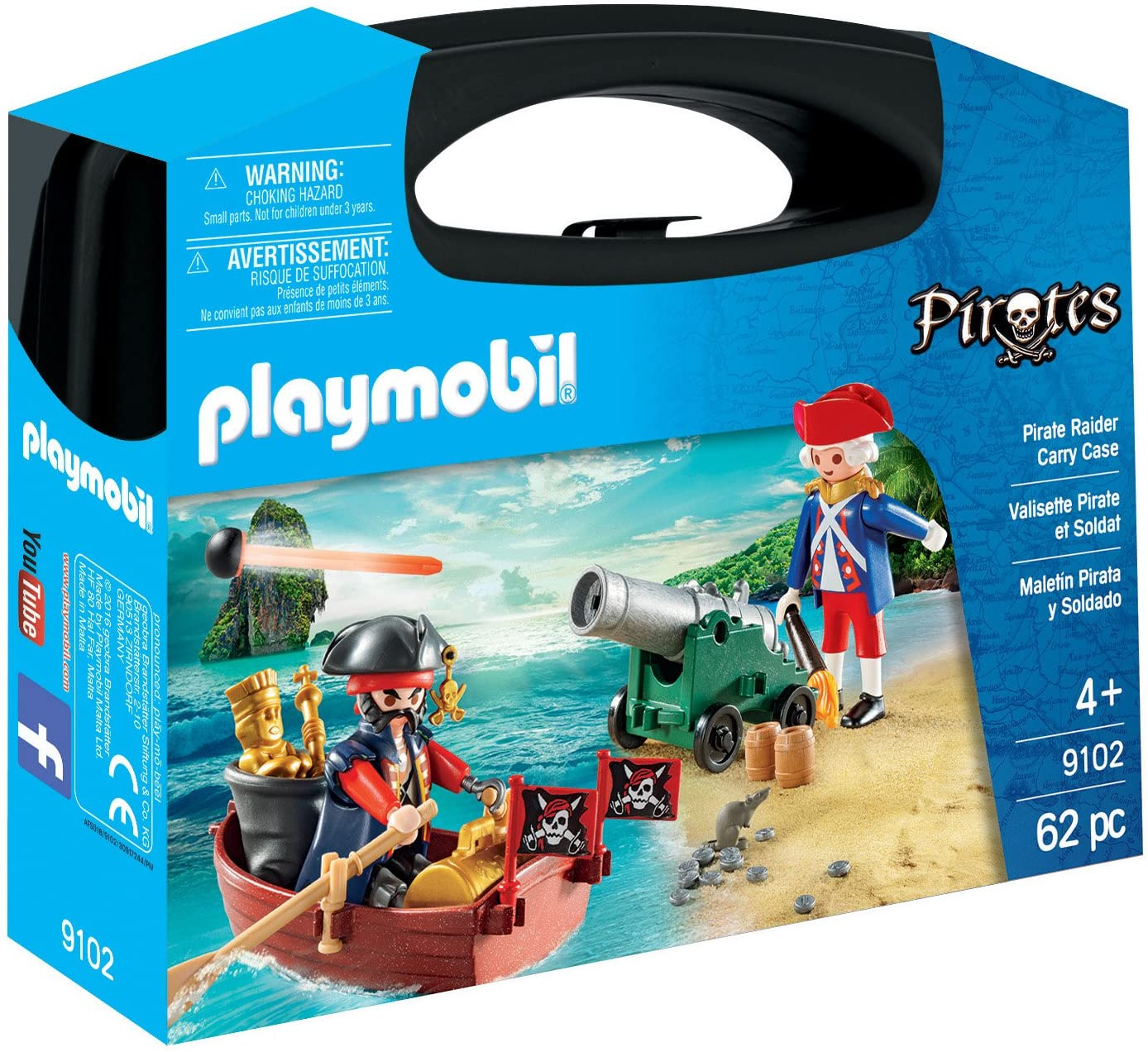 PLAYMOBIL Spring new work Pirate Raider Carry Case New mail order