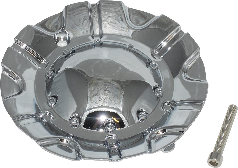 Detroit Mall Aftermarket Akuza Spur 504 Popular popular Rim Wheel LG0603-42 EMR0504-TRUCK-CAP