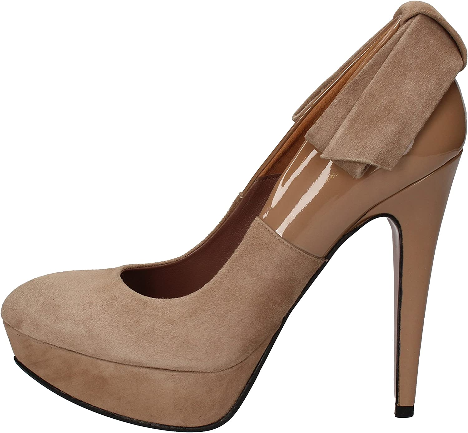 GIANNI MARRA Pumps-shoes Womens Suede Brown