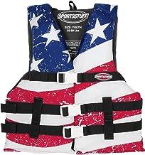 SportStuff Adult Super Large Stars and Stripes, Life Jacket