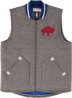 Mitchell & Ness Buffalo Bills NFL Victory Premium Throwback Vest Men's Jacket
