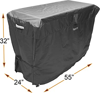 """Redwood Grill Supply 55-inch Outdoor Cover for Keter Unity XL Portable Table - UV Resistant, Breathable, All Weather (55"""""""