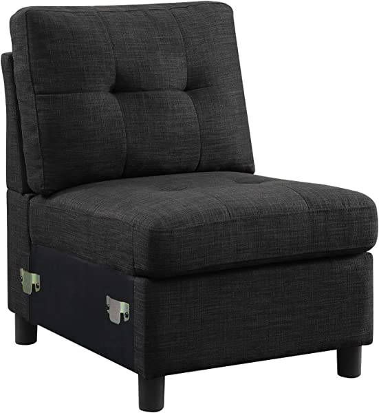 Bliss 品牌组合式组合式沙发套组装客厅家具沙发双人沙发束套坐垫易组装无臂