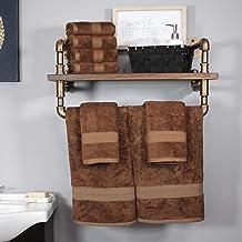 مجموعة مناشف حمام سوبيريور من رايون مصنوعة من الخيزران والقطن، ناعمة/ماصة Hand Towel Set 650GSM HAND CO